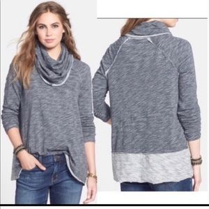 Free People (FP Beach) Cocoon FunnelNeck Pull Over